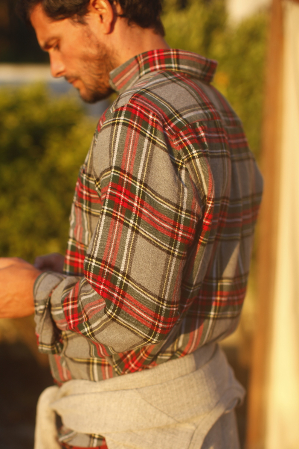 Flannel shirt by Portuguese flannel.