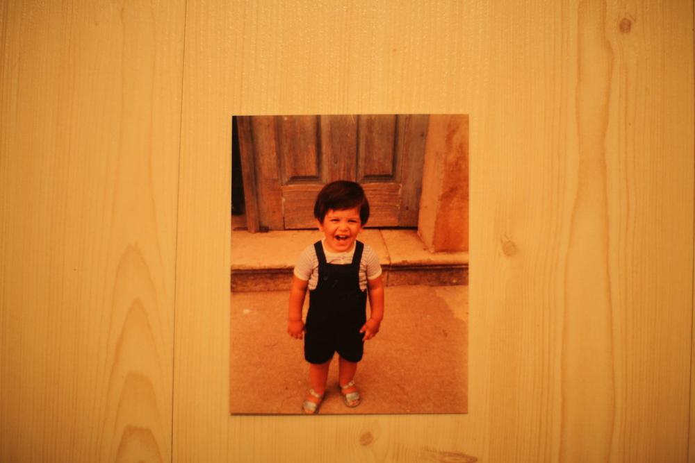 At age 3...