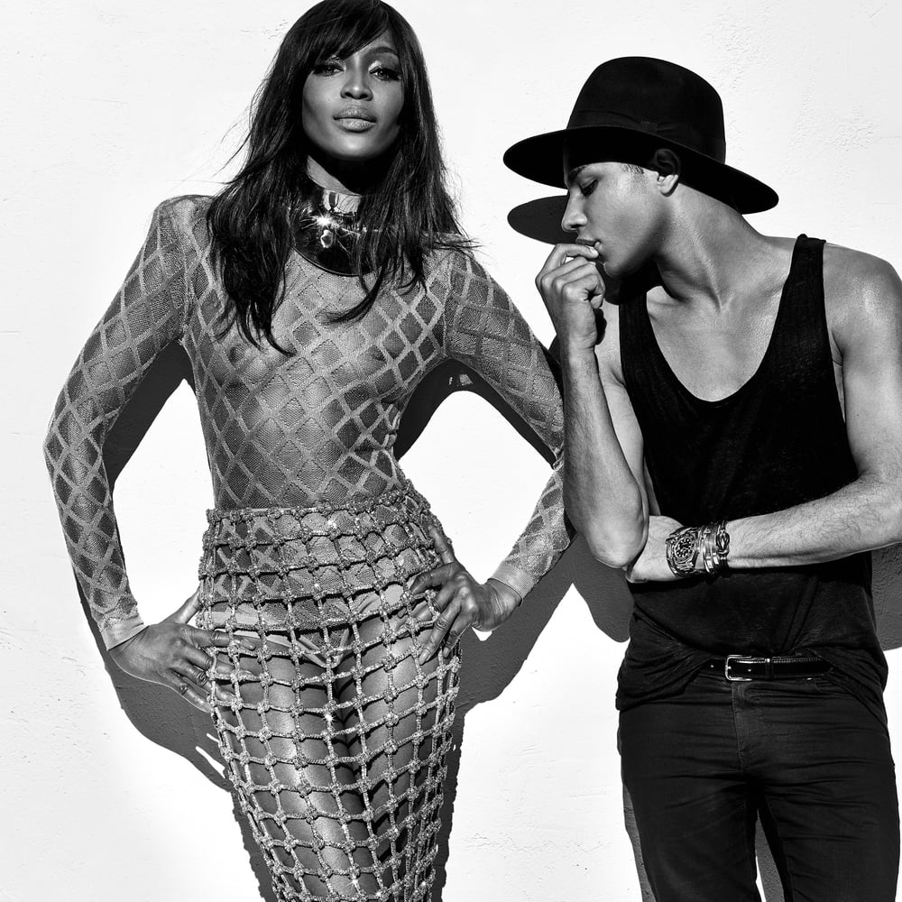 Naomi Campbell, an amazing body.