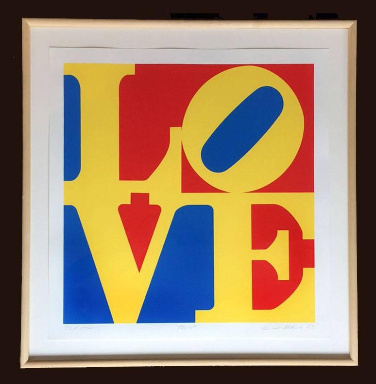 By Robert Indiana, at 1st Dibs.com