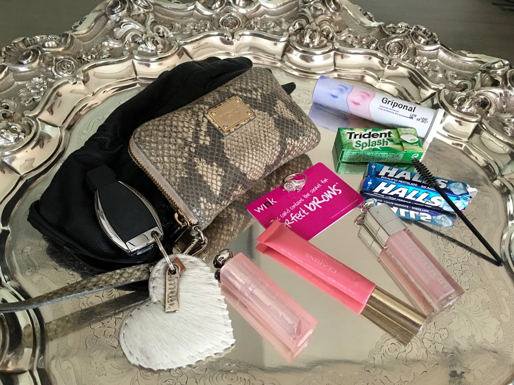Handbag essentials...