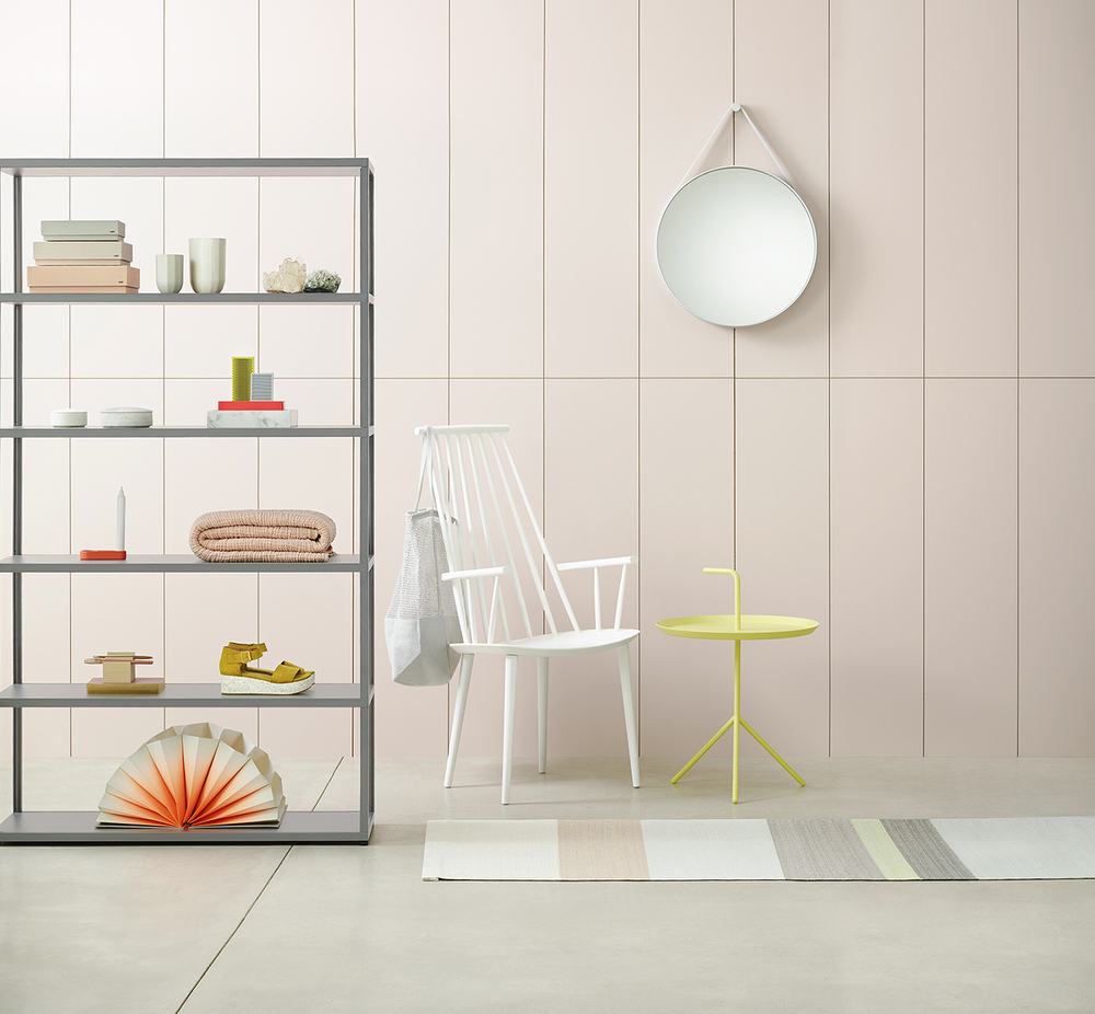 Scandinavian design and colours.