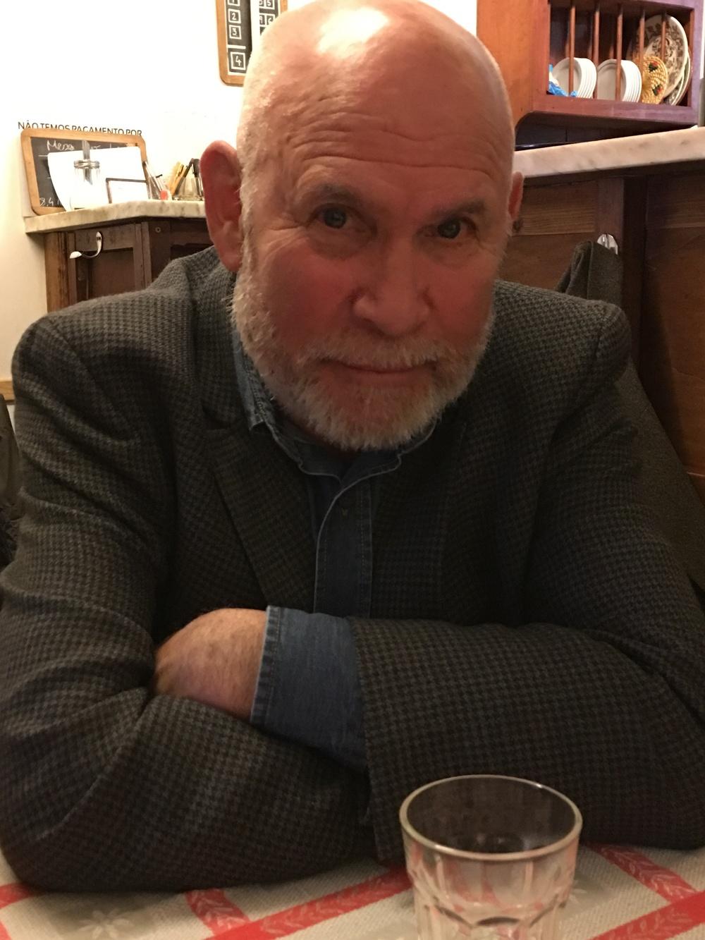 Steve McCurry at the Taberna da Rua das Flores.