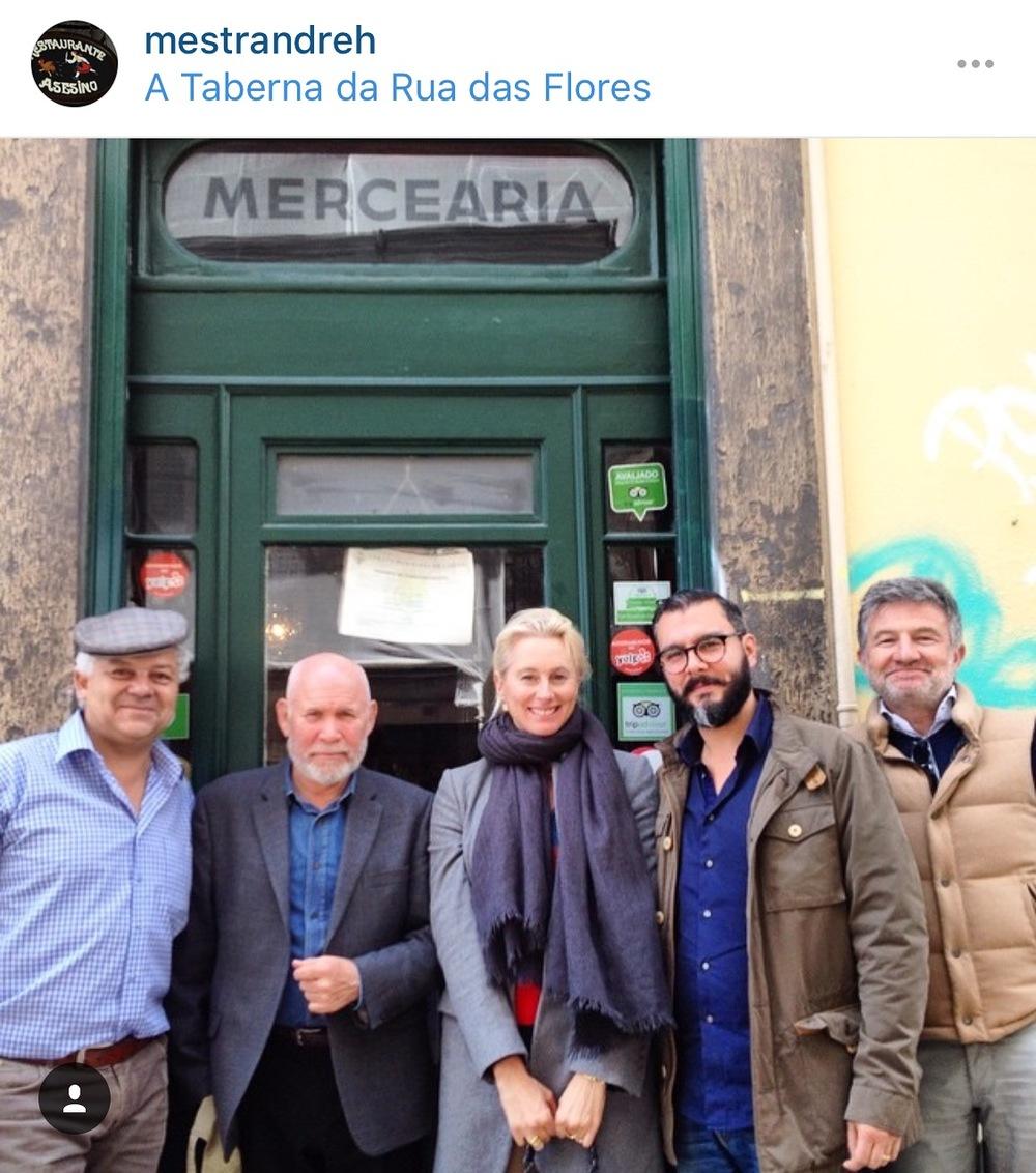 André Magalhães, Steve McCurry, me, João Barbado, Fernando Freire.
