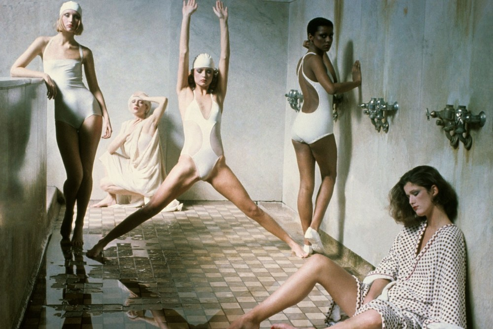 Photograph by Deborah Turbeville for american Vogue, 1975.
