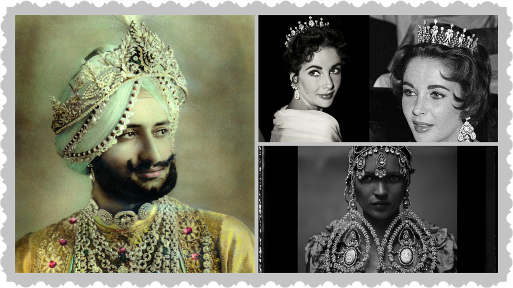 More is more, I love the excess of the Maharajah of Patiala wearing Cartier, Kate Moss and Elizabeth Taylor wearing part of her fabulous collection of jewellery.