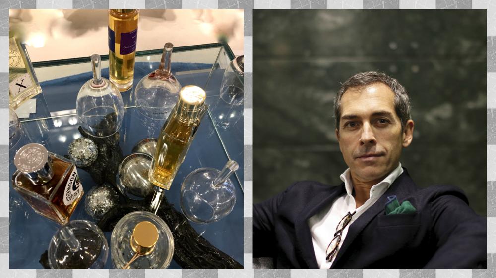 The scent evangelist himself,Pedro Simões Dias