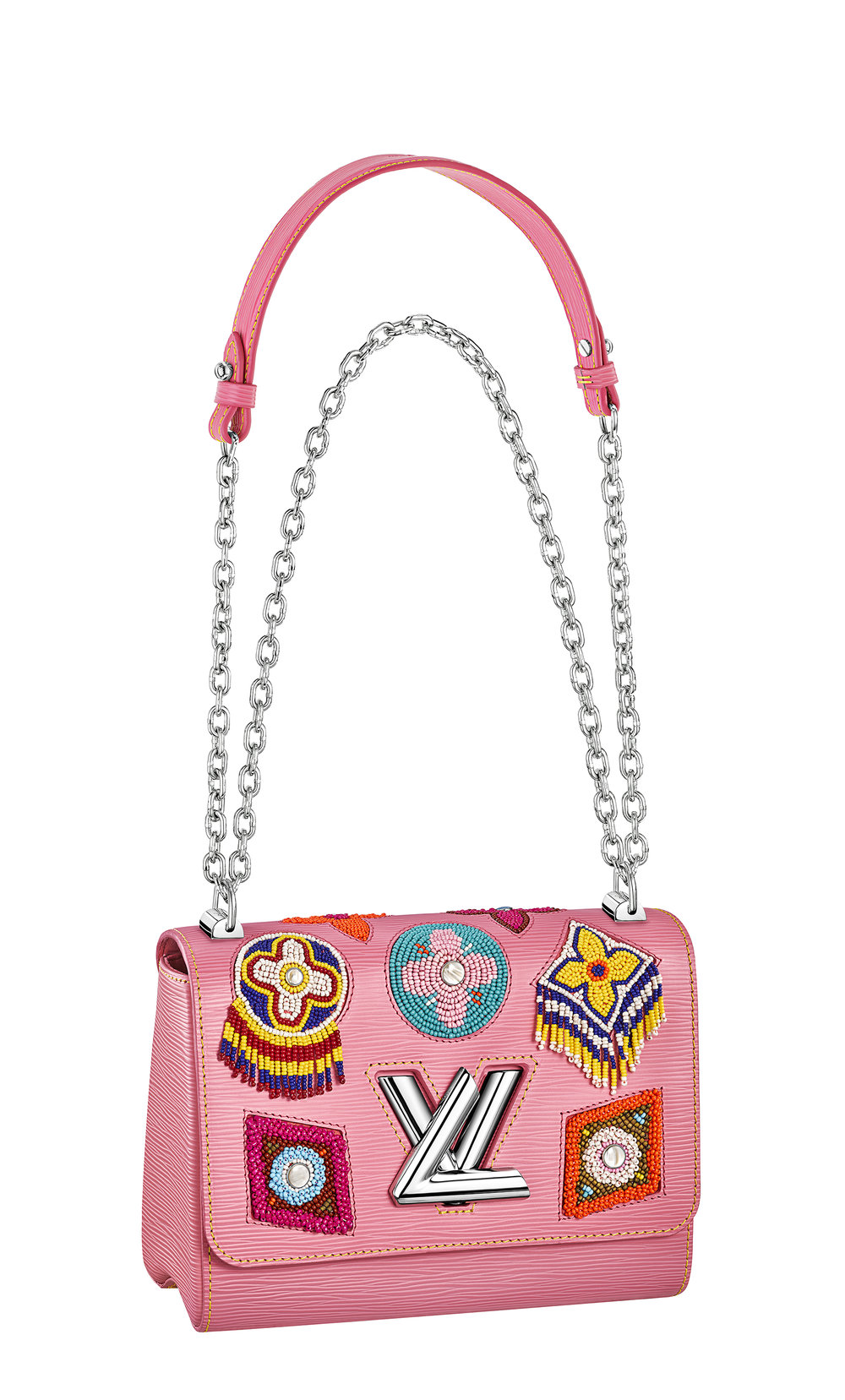 Luxurious exploding pinks from Louis Vuitton.