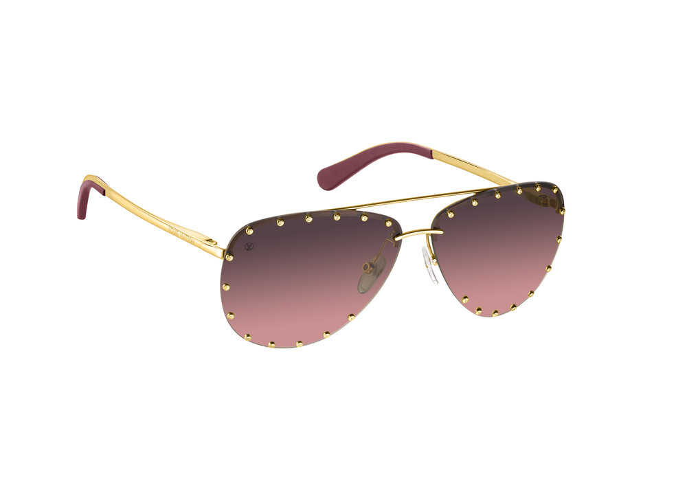 Life through rose tinted glasses looks better, all from the Louis Vuitton new Gifts Collection.