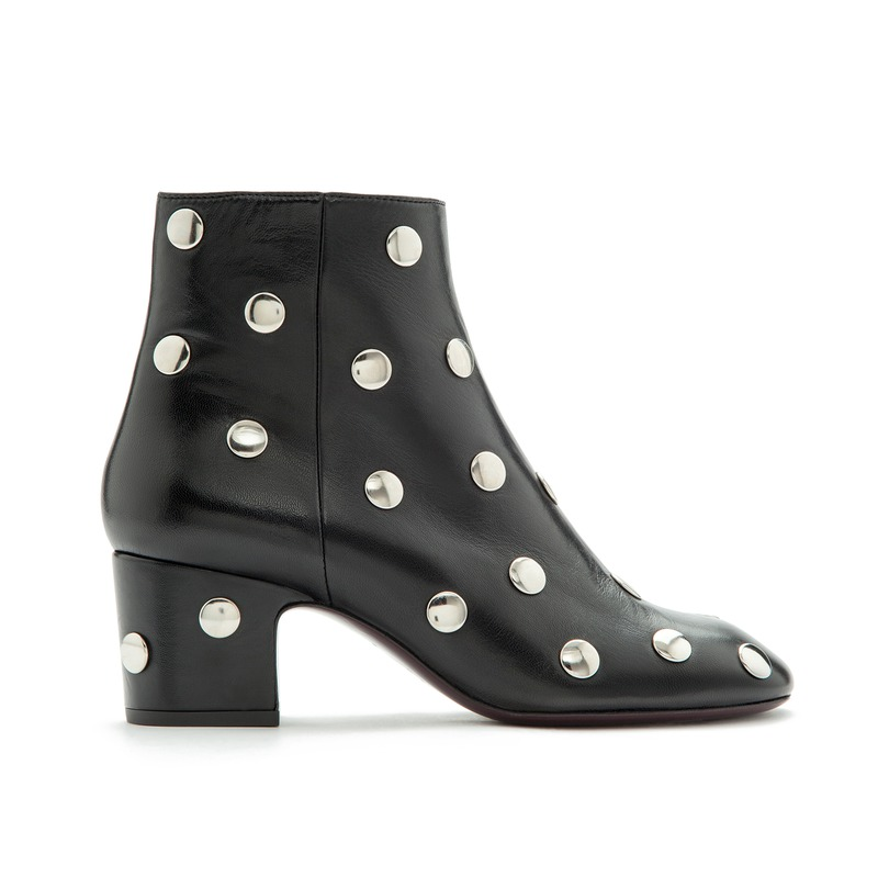 The fun boot, with a very practical heel 164 euros.