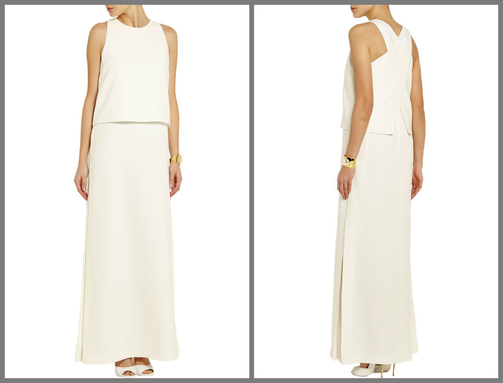Fendi gown, for the modern minimalist.