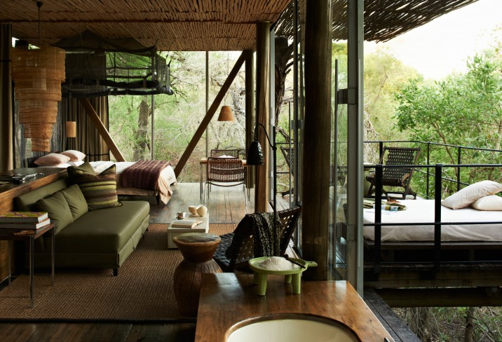 Singita Hotel in the Kruger Park in South Africa, need I say more!
