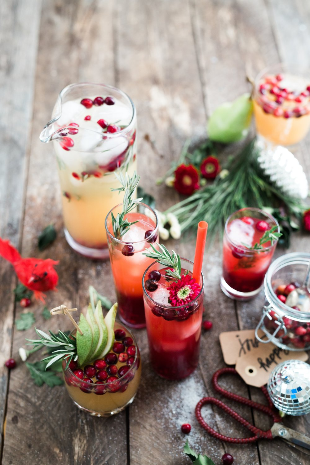 Let the summer season begin, fresh cranberry, vodka and rosemary cocktails.