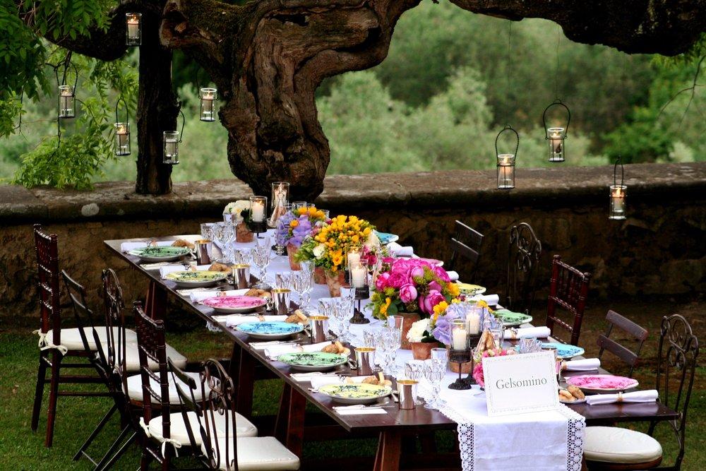 In Tuscany, at the Villa I Colazzi