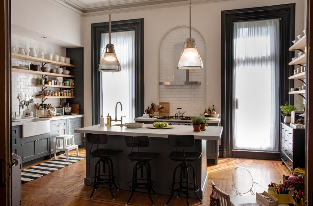 The kitchen in the movie, The Intern.