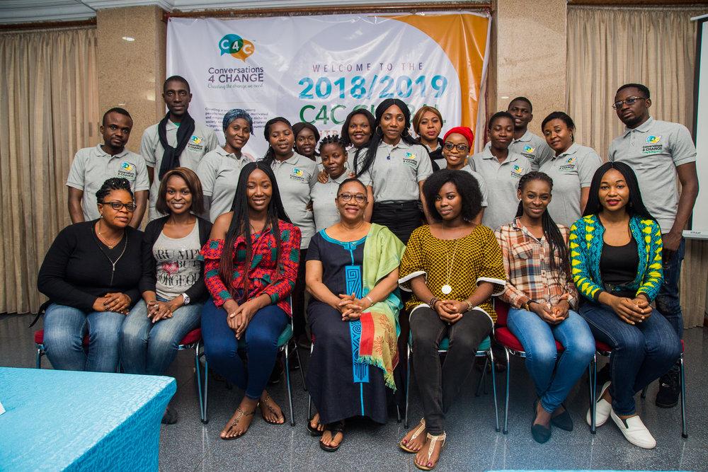 THE C4C'S 2018 GLOBAL ENTREPRENEURSHIP FELLOWSHIP PROGRAMME (GEFP)