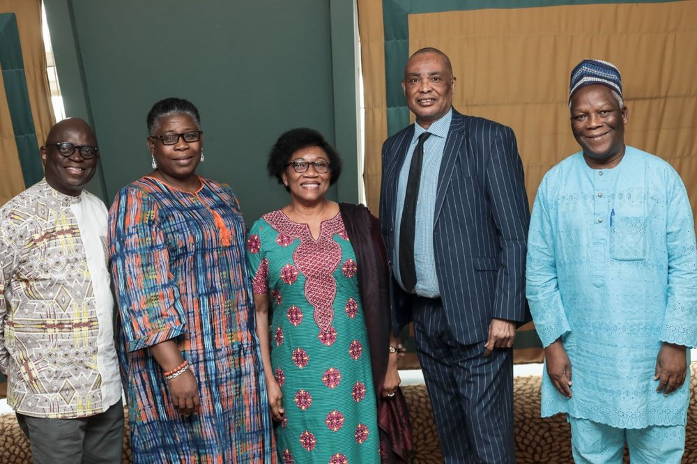 Dr. Kechi Ogbuagu and other members of the Senior Expert Advisory Board