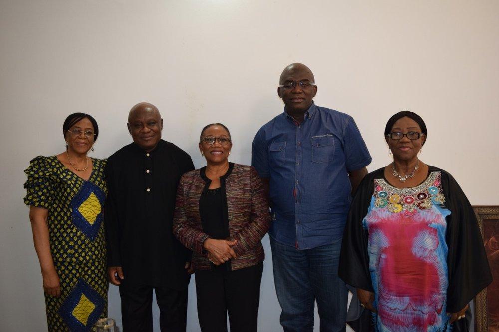 C4C Board Members : Ambassador Joy Ogwu, Eze Festus Odimegwu, Dr. Kechi Ogbuagu, Mr. Alex Onuegbu and Barrister Carol Ndaguba