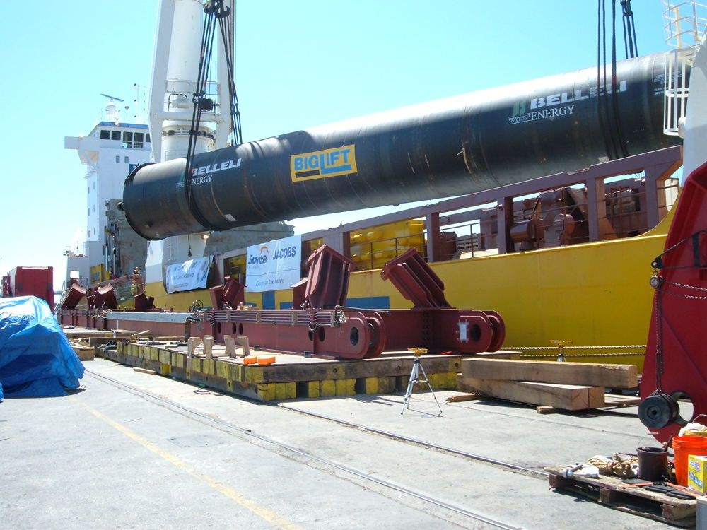 Facilitated and supervised the loading/unloading and intermodal transport of a 1,500,000 pound reactor.