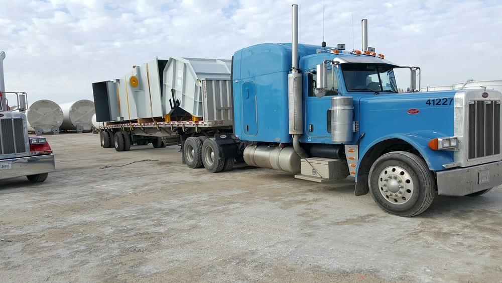 Nitrogen Plant machinery from the Port of Corpus Christi, TX to Enid, OK.