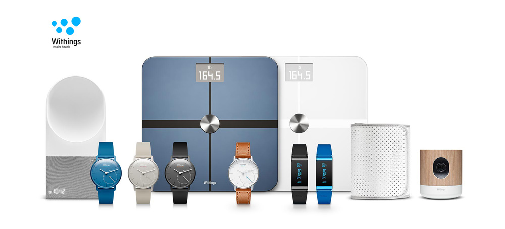 Ecosystem of Withings products
