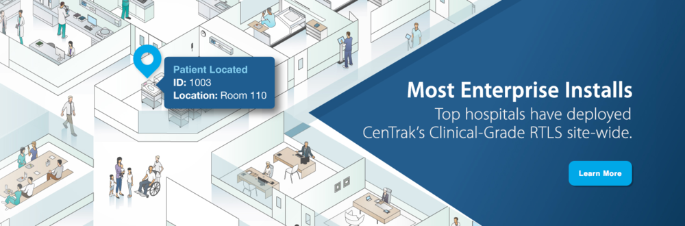 CenTrak locates patients, staff, and assets