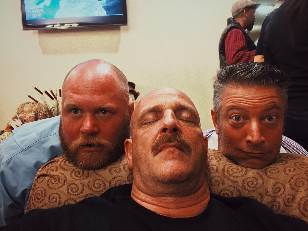 The last nights party was a blast. Poor Cliff passed out in the lobby so everyone started making selfies with him. To defend him - everyone was just exhausted from the last couple of days! (Dr Rock, Cliff & J.T)