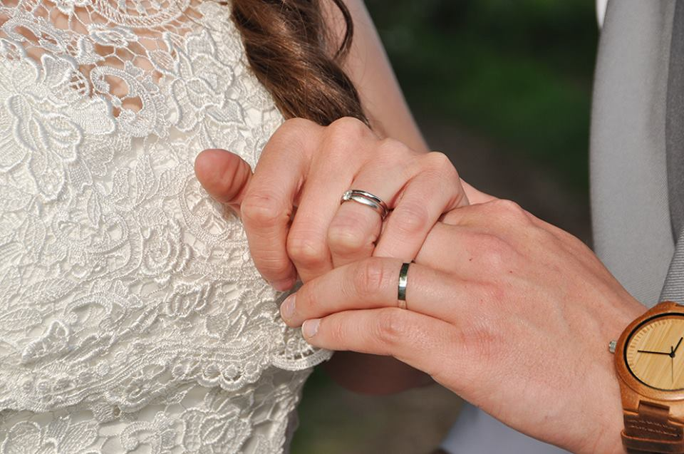 DIY Wedding Rings Rebecca Winder