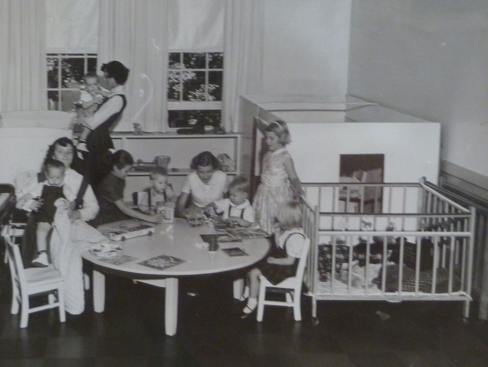 church playgroup, early 1950s