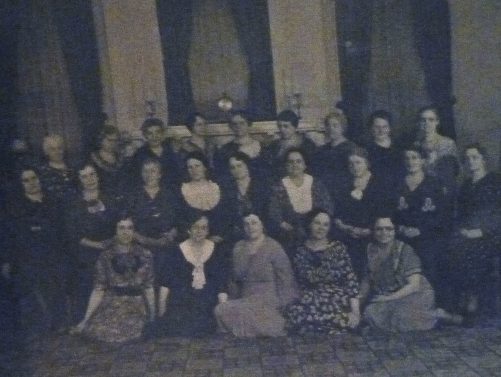 the women of Union Church, first part of the twentieth century