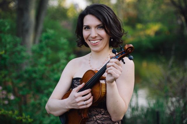 Stanichka Dimitrova, violinist