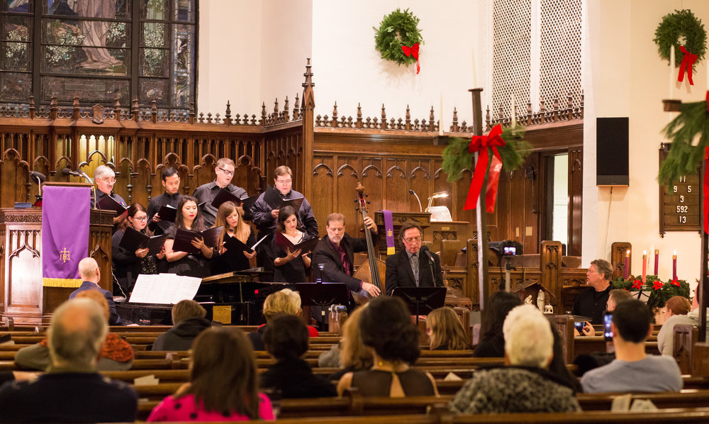 Union Church of Bay Ridge Choir at 2016 Christmas Concert