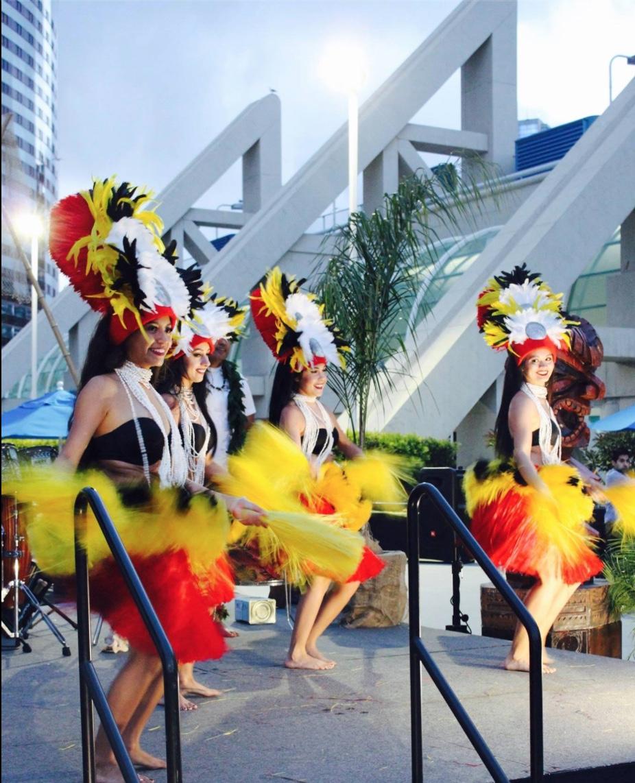 Tahitian Dancing