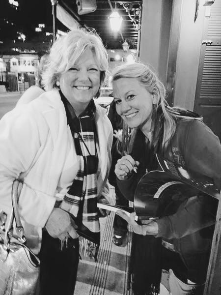 Shirley Waring of Vicksburg Blues Society & me