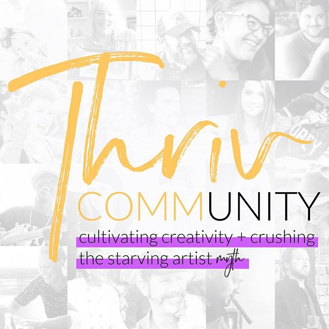 Check out what Jenn is doing now!! (Follow) @thrivcommunity is an online learning platform for creatives to learn how to build a foundation that will give you a foundation to cultivate your own creativity! #thrivcommunity #starvingartistmyth @jennockenphoto