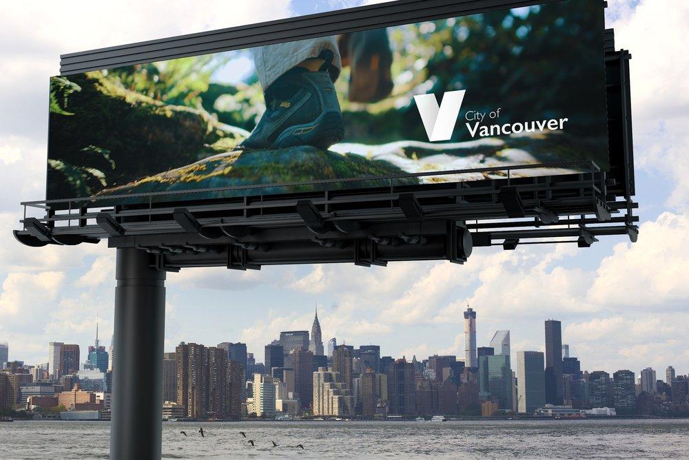 Vancouver Billboard, Mock up