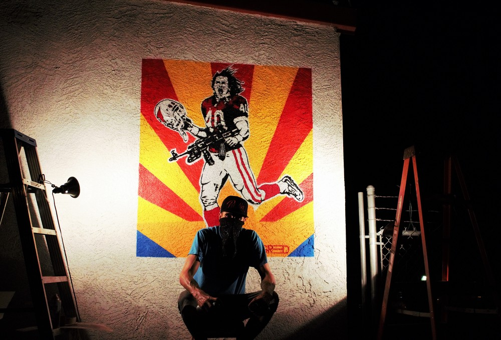 Pat Tillman Tribute in Arizona.