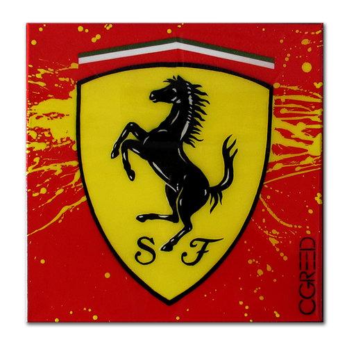 Ferrari Logo Mini C Greed Art