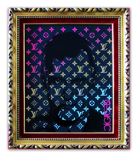 Hugh Hefner - Louis Vuitton
