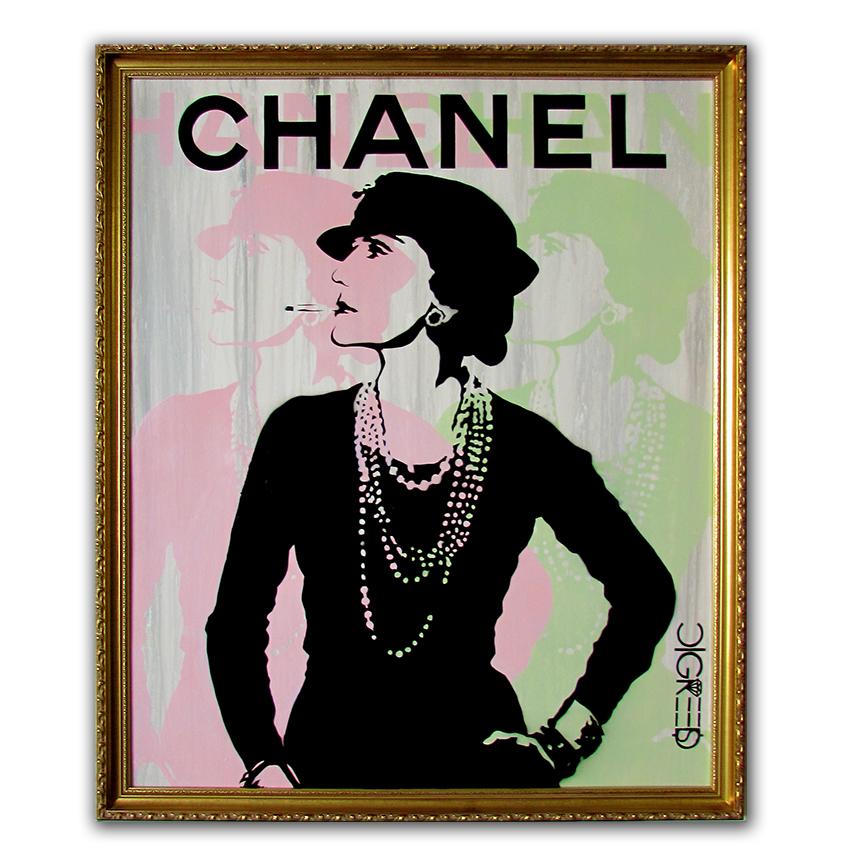 Coco Chanel - 3 Layer
