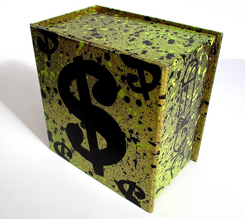 Mini Money Bag Sculpture