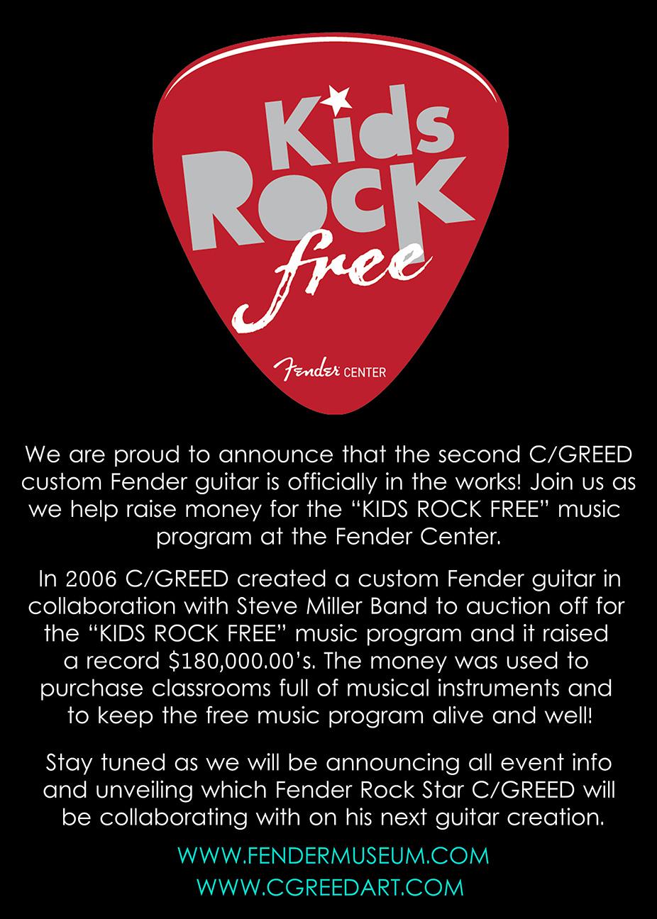 Fender Guitars - X - C/GREED