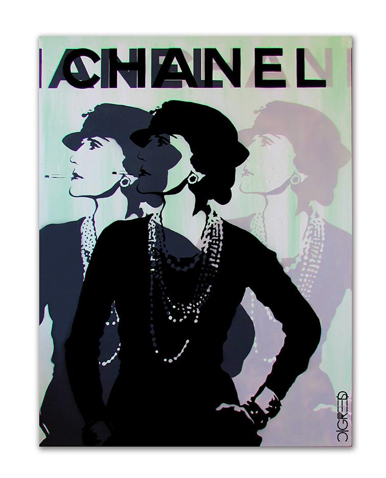 Coco Chanel - 3 Layer #2