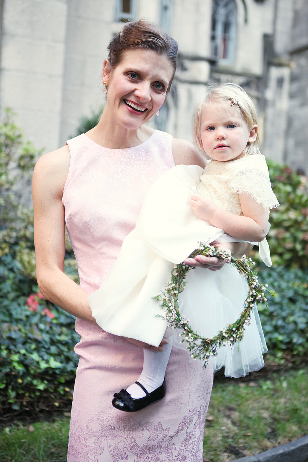 Bridesmaid and Flower girl dresses by KRISTI VOSBECK