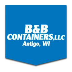 B&B Containers, LLC 380 Rusch Rd Antigo, WI  715-623-3454