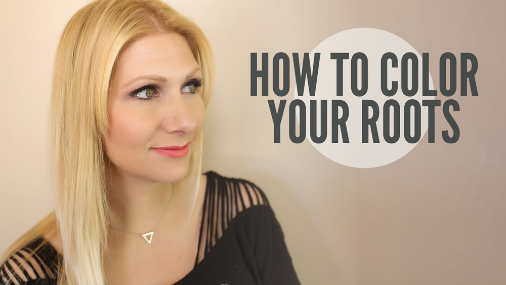How to color your own roots. — Confessions of a Hairstylist