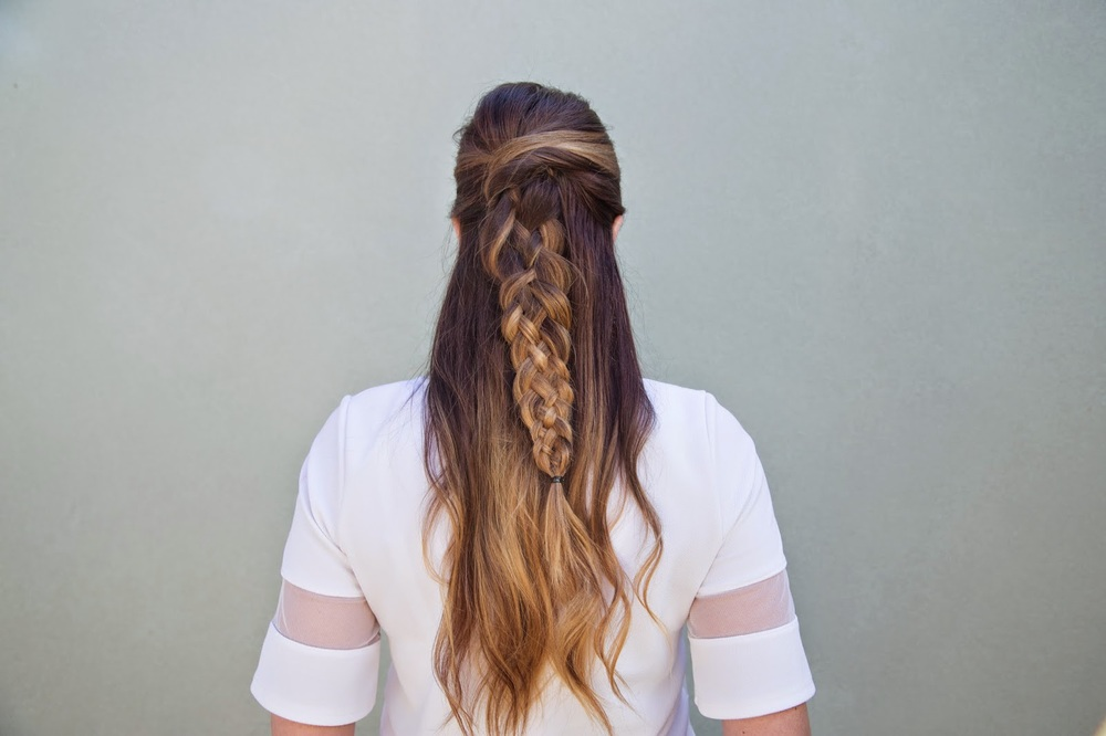 Easiest 5 Strand Braid Hair Tutorial Confessions Of A Hairstylist