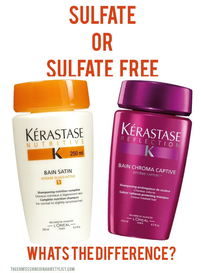 Sulfate Shampoo Or Sulfate Free Confessions Of A Hairstylist