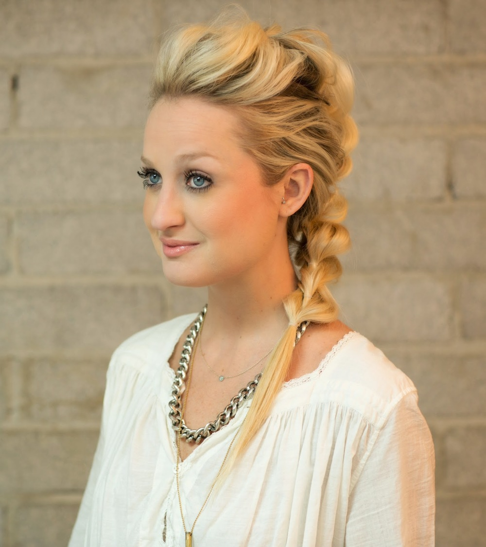 Pull Through Mohawk Braid hair tutorial — Confessions of a Hairstylist