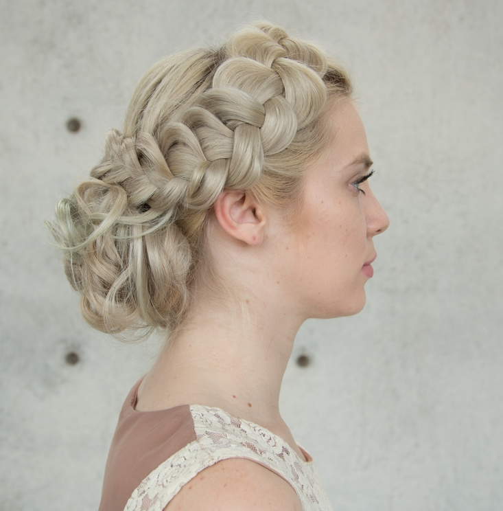 Braided Upstyle Hair Tutorial — Confessions of a Hairstylist